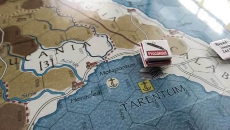 263 B.C. reinforcing Tarentum