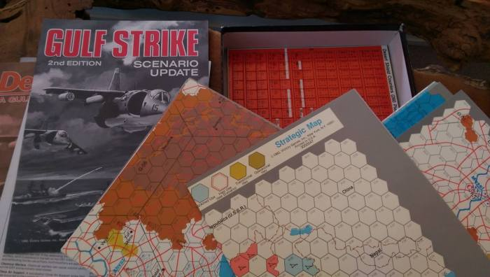 oh no big deal... just GULF strike with the Desert STORM EXPANSION... UP mothers.