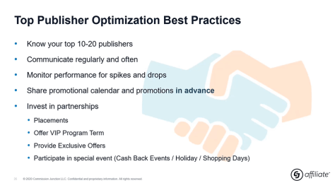 top publisher optimziation best practices