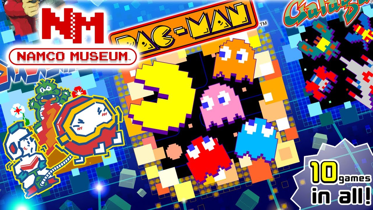 Namco Museum Heading West On July 28, 2017