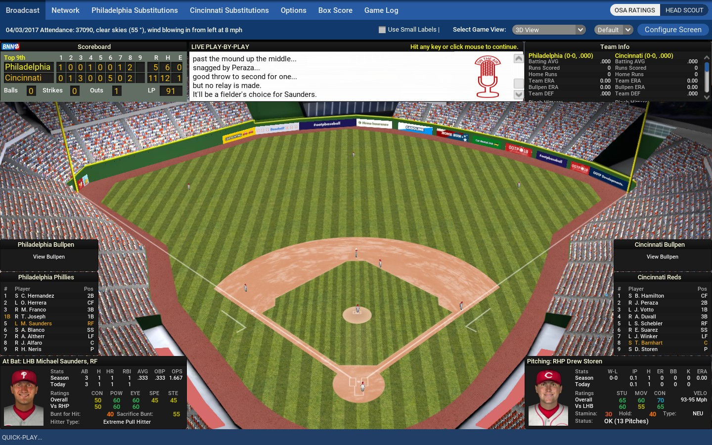 Review: Out of the Park Baseball 18 – Big Boss Battle (B3)