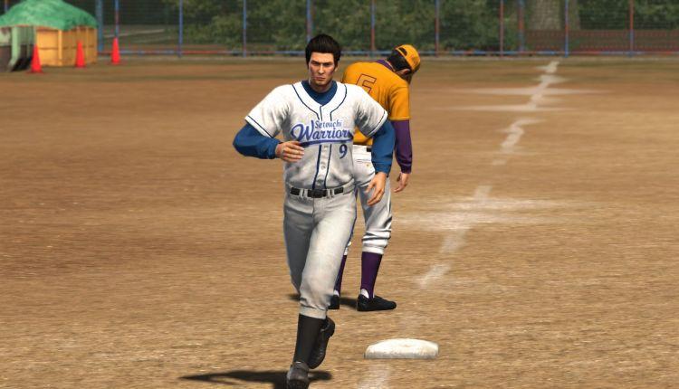 Yakuza 6 Baseball