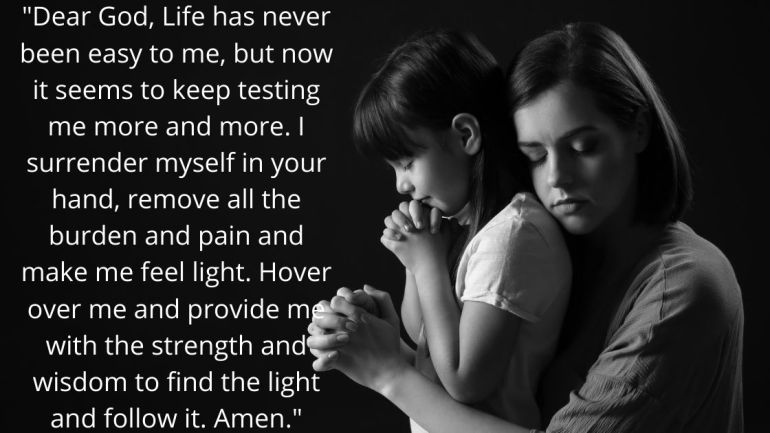 Single Mom Prayer Images