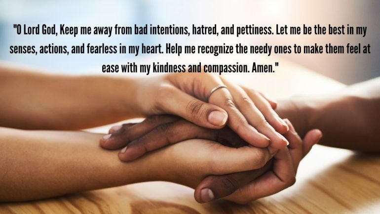 prayer for kindness Images
