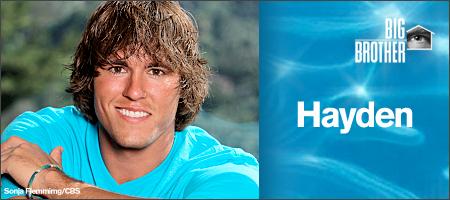 Hayden Moss - BIG BROTHER 12 (CBS)