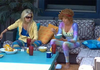 Kathy and Kristen