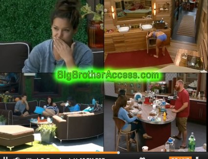 Big Brother 15 Live Feeds Tuesday Week 7 (5)