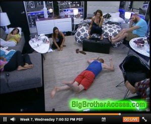 Big Brother 15 Live Feeds Wednesday Week 7 (14)