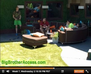 Big Brother 15 Live Feeds Wednesday Week 7 (6)