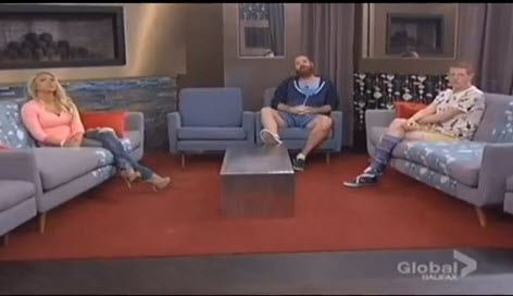 Big Brother 15 Final Three - GinaMarie, Spencer and Andy