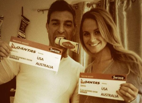 Jeff Schroeder and Jordan Lloyd head to Australia - Source: Twitter