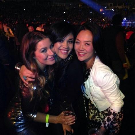 Elissa Reilly, Candice Stewart and Helen Kim - Source: Twitter