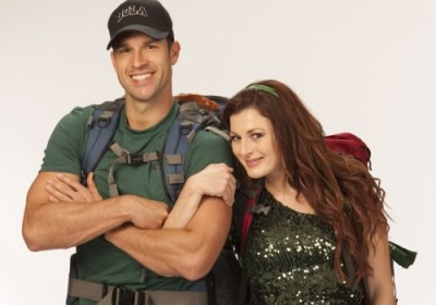 The Amazing Race 24 All Stars Brendon Villegas and Rachel Reilly - Source: CBS
