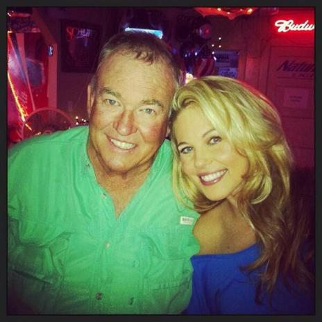 Aaryn Gries and her dad