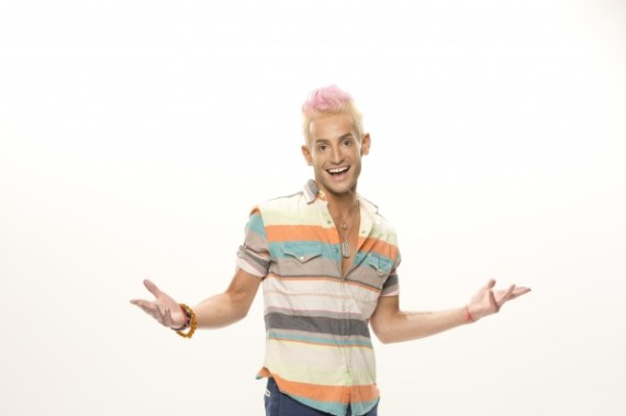 Big Brother 2014 cast member Frankie J. Grande (CBS)