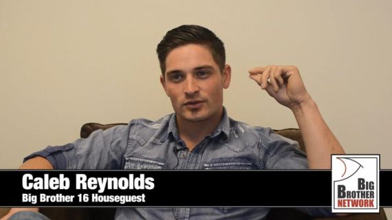 Big Brother 16 Houseguest Caleb Reynolds (CBS/BigBrotherNetwork)