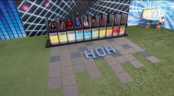 Big Brother 2014 HoH Competition (CBS)