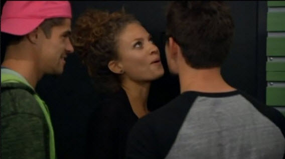 Big Brother 16 Zach, Amber & Caleb (CBS)
