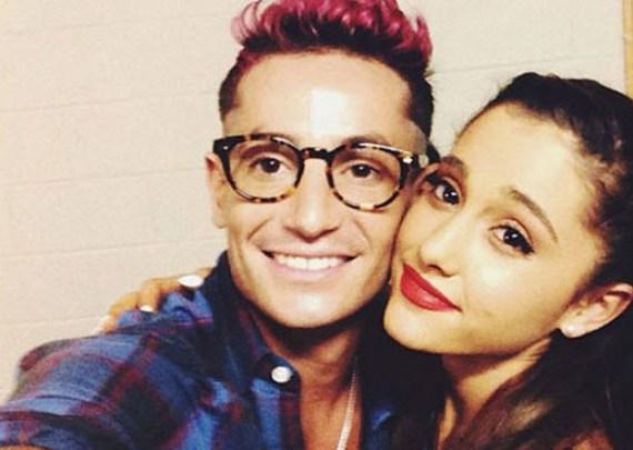 Frankie and Ariana Grande (Instagram)