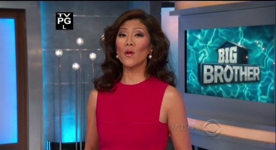 Big Brother host Julie Chen (CBS)