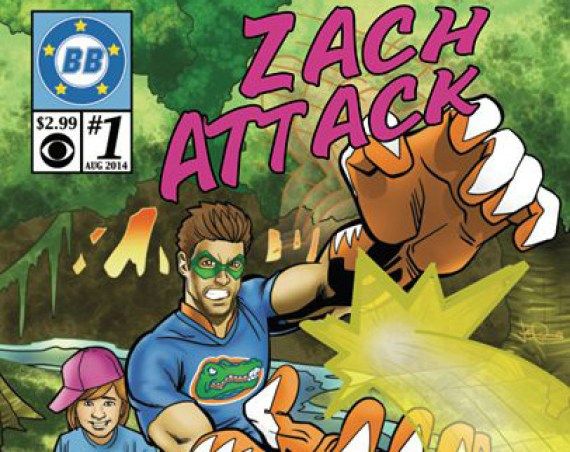 Big Brother 16 Comic Book Cover - Zach Attack (CBS)