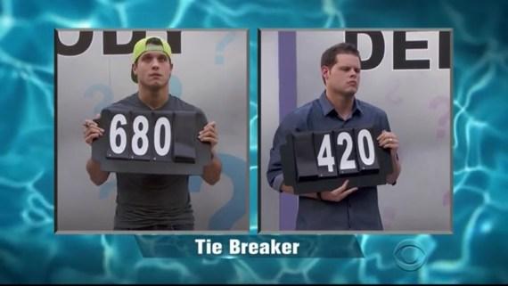 Tie Breaker: Cody and Derrick