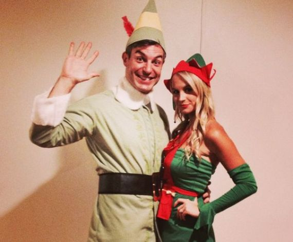 Jeff Schroeder and Jordan Lloyd confuse Christmas with Halloween (Twitter)