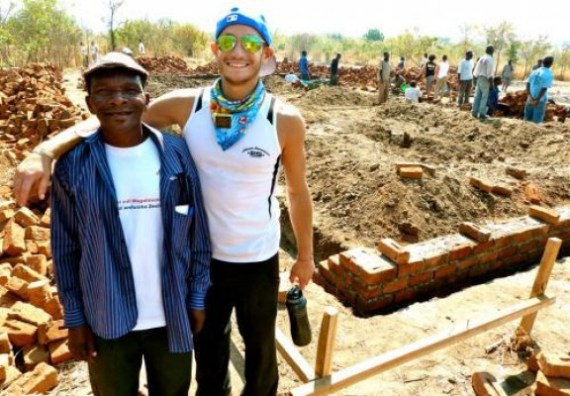 Frankie Grande in Africa