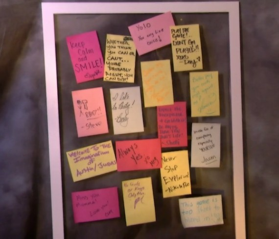 Big Brother Spoilers Post-Its