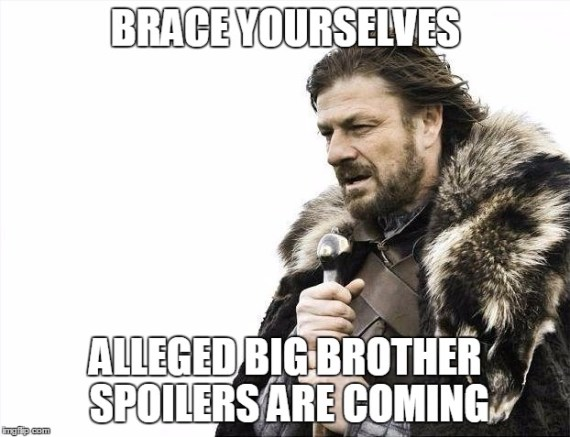 Big Brother spoilers meme