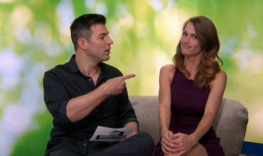 Jeff's interview with Becky (CBS)