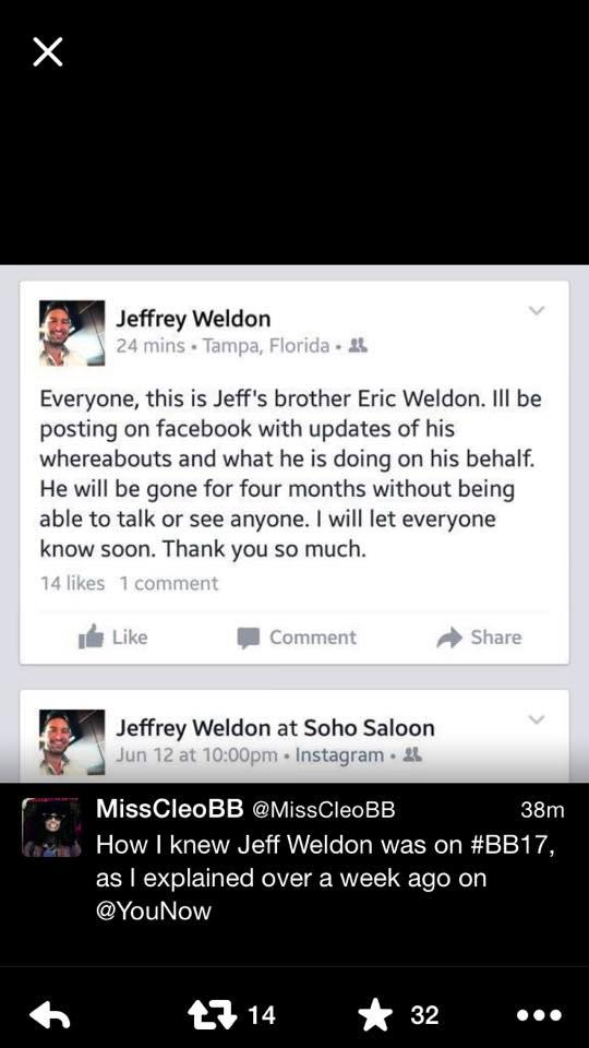 Jeff Wheldon Twitter