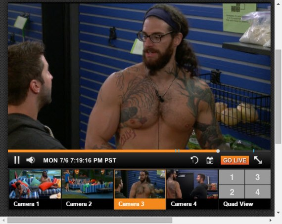 Big Brother 17 Live Feeds 7-30-2015 1