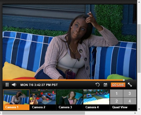 Big Brother Live Feeds - July 6, 2014