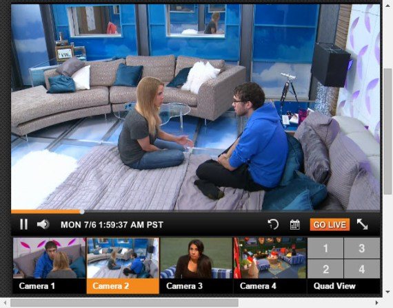 Big Brother 17 Live Feeds 7-30-2015 5