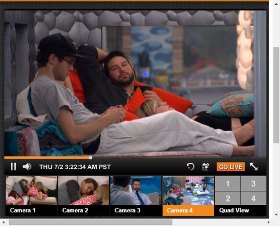 Big Brother Live Feeds 07-01-2015 1