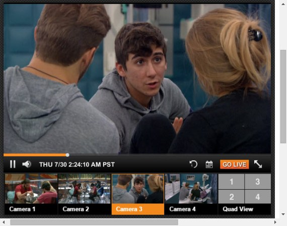 Big Brother Live Feeds July 30 2015 (9)