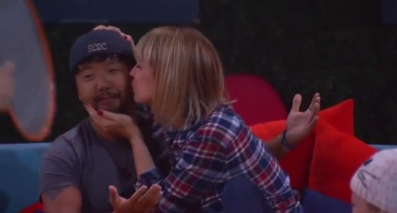 Big Brother Live Feeds 2015 - James Huling and Meg Maley (CBS)