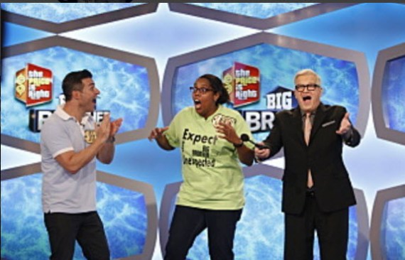Jeff Schroeder on The Price Is Right (Instagram)