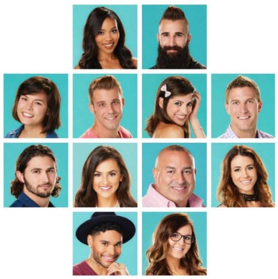 2016 Big Brother 18 Cast 2