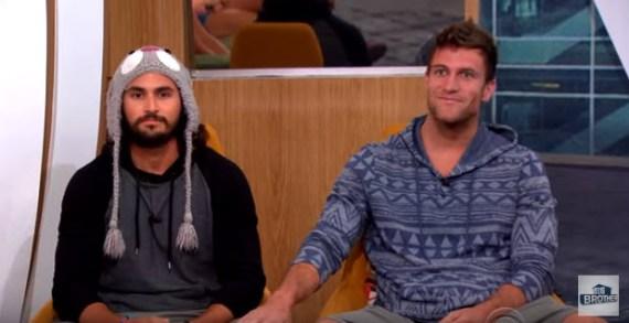 Big Brother 18's Victor Arroyo & Corey Brooks (CBS)