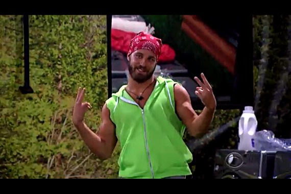 Big Brother 18 Paulie Calafiore (Source CBS)