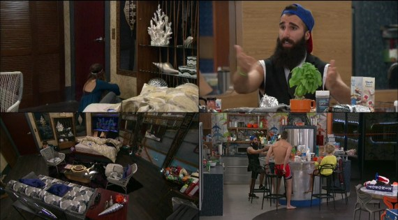 Big Brother 18-Nicole Franzel and Paul Abrahamian argue