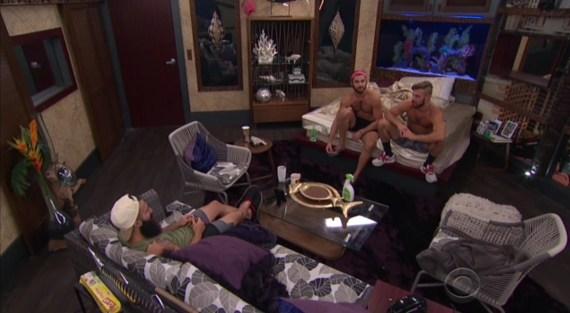 Big Brother 18-Paulie Calafiore, Paul Abrahamian, Victor Arroyo