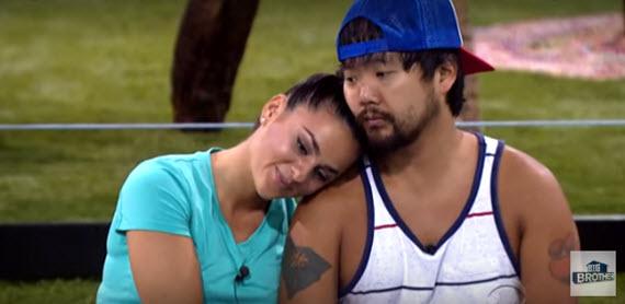 Big Brother 18's James Huling & Natalie Negrotti (CBS)