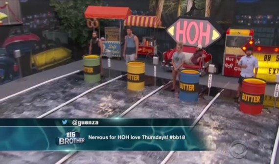 Big Brother 18 Week 12 HOH