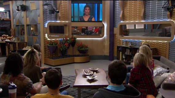 Big Brother:Over the Top Cast with Julie Chen (Photo courtesy of CBS)