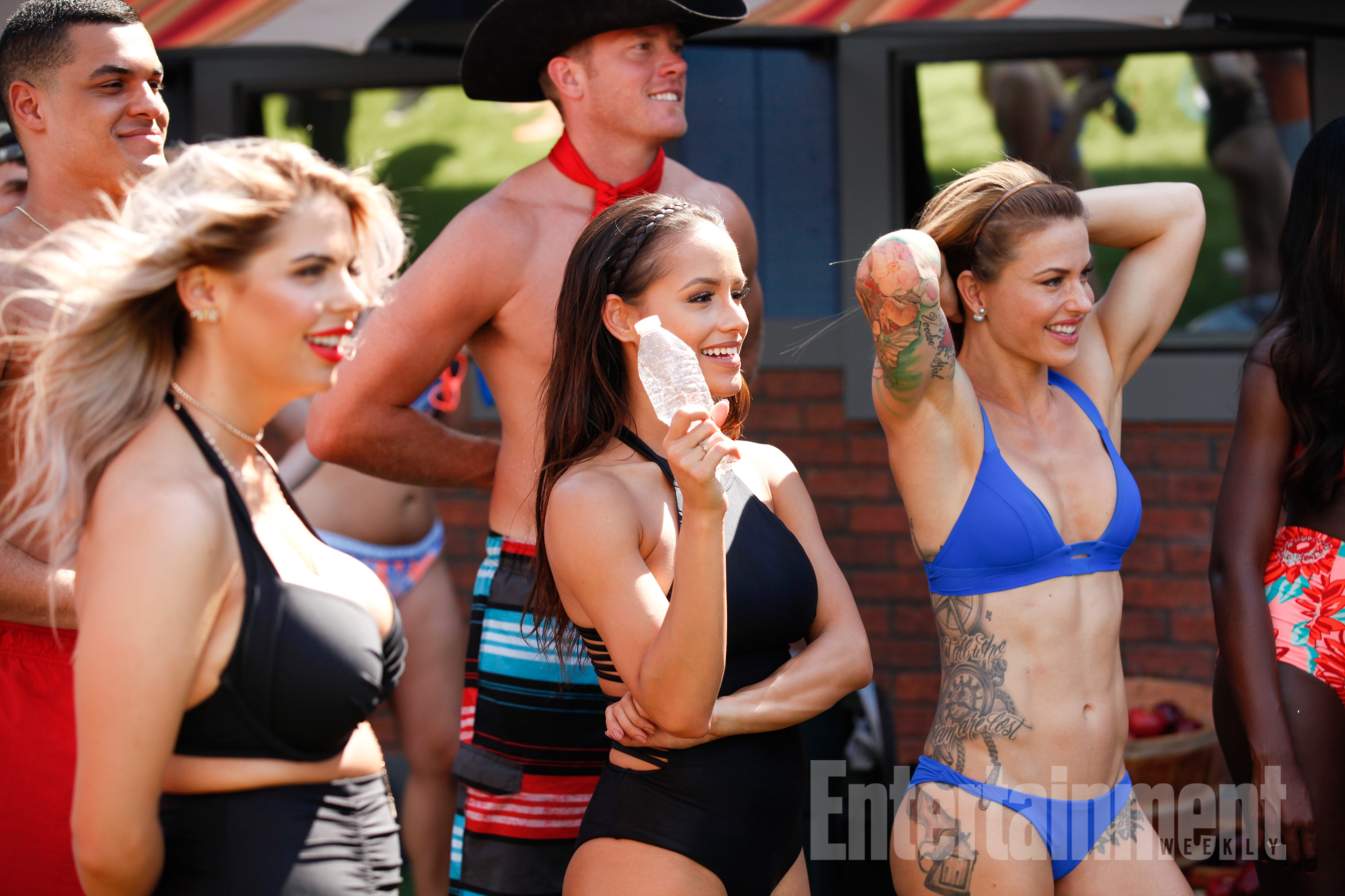 big brother 19 more behind the scenes swimsuit photos pictures