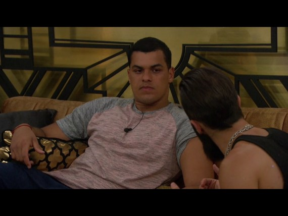 Big Brother Josh Martinez This Week's Pawn