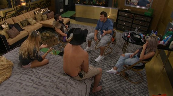 Big Brother 19 Elena Davies, Mark Jansen, Alex Ow, Paul Abrahamian, and Jason Dent